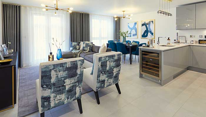 New show home reflects 'Vicinia's stylish design